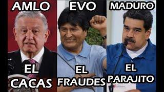 EVO MORALES Y SUS AMIGOS HACEN EL RlDlCUL0