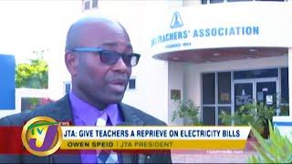 JTA: Give Teachers a Reprieve on Electricity Bills - March 29 2020