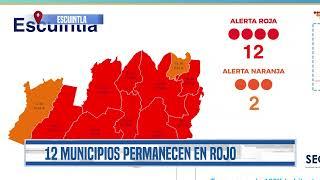 12 de los 14 municipios de Escuintla permanecen en alerta roja por Covid   Guatevisión