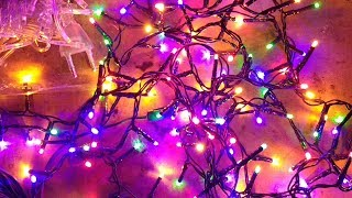 Poundland LED fairy lights versus cheap ebay ones.