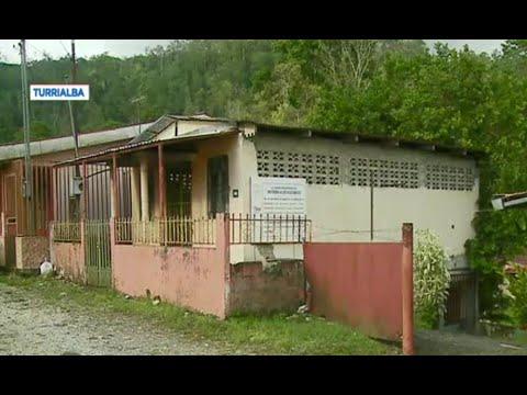 Obras de escuela en Turrialba abandonada desde el 2019