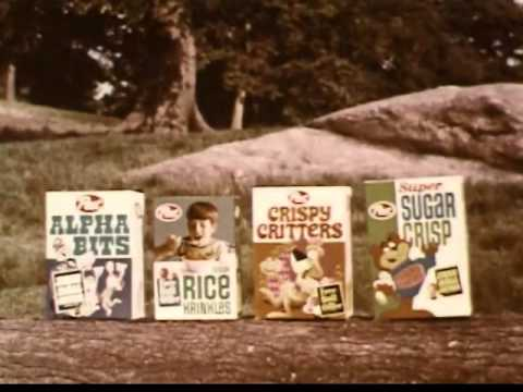 VINTAGE EARLY 70's POST CEREAL COMMERCIAL WITH MARV ALBERT ANNOUNCING