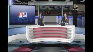 Noticiero Al Día Central Santa Cruz: Programa del 09 de Abril de 2020