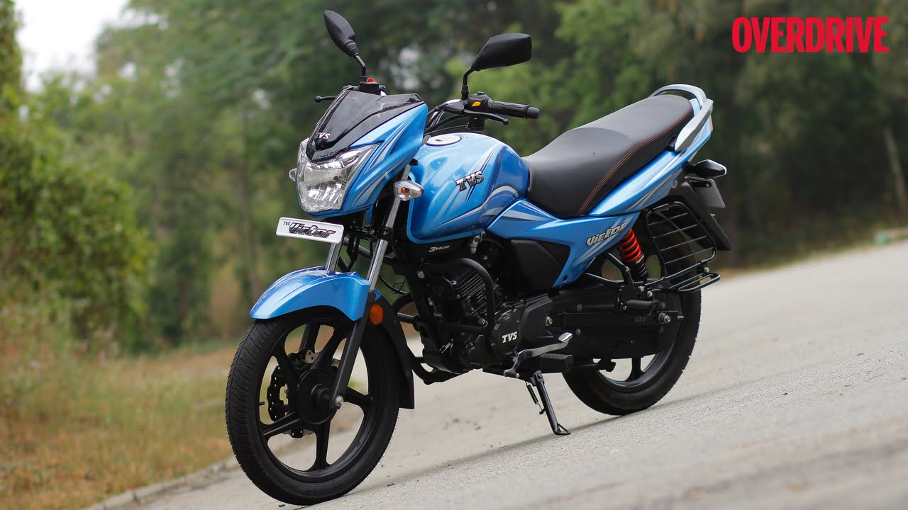 First Look: 2016 TVS Victor 110