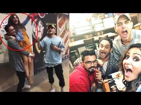 Hina Khan FINALLY MEETS Vikas Gupta, Priyank Sharma After Bigg Boss 11