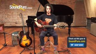 Eastman Archtop Comparison AR905CE vs. AR880CE-SB Quick n' Dirty