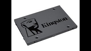 "?960GB 2.5"" SSD - Kingston UV500 Review"