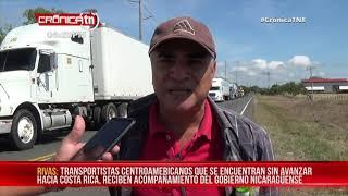 Alcaldía de Rivas, brinda asistencia sanitaria a transportistas en carretera sur – Nicaragua