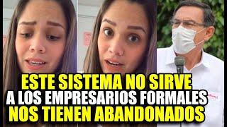 ANDREA SAN MARTIN PROTESTA CONTRA EL GOBIERNO Y LA GENTE INFORMAL EN PLENA PANDEMIA