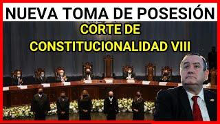 ???? RETRANSMISIÓN | Toma de posesión de la nueva Corte de Constitucionalidad VIII 14/04/2021