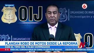 Así planean el robo de motocicletas desde La Reforma