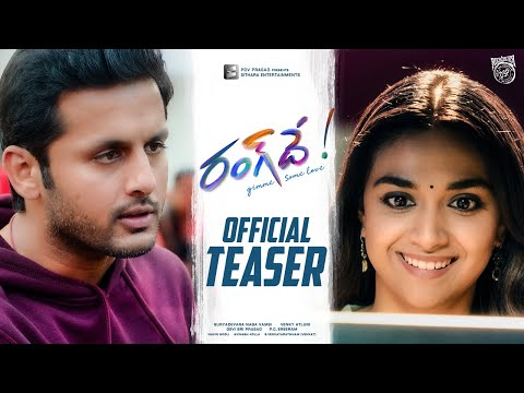 A Cute Marriage Gift to our Hero Nithiin from team #RangDe | #RangDeTeaser