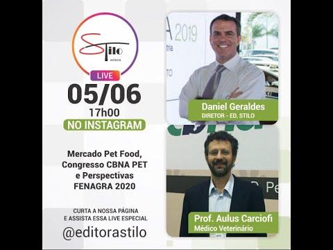 Live com prof. Aulus Carciofi - CBNA Pet