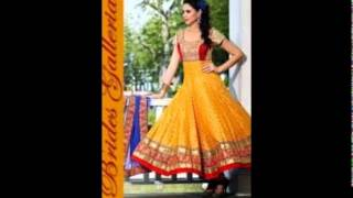 thetradeboss.com Presents Latest Beautiful Anarkali Dress Designs Collection for 2014-2015