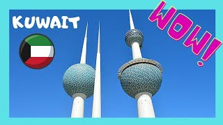 EXPLORING THE KUWAIT TOWERS: beautiful PANORAMIC VIEWS of KUWAIT
