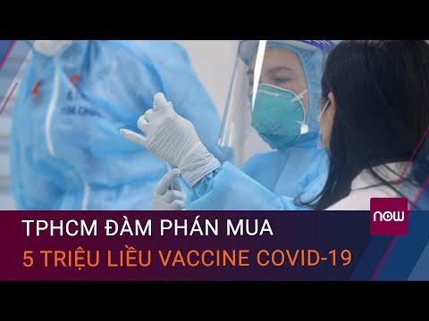 TPHCM àm phán mua 5 triu liu vaccine nga Covid-19 trong quý 3/2021   VTC Now