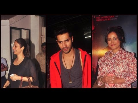 Bollywood Celebs At 'Badlapur' Special Screening