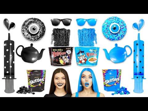 อาหารสีฟ้าหรืออาหารสีดำ-|-ความ
