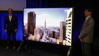 Sony's Z series TVs pump up the brightness