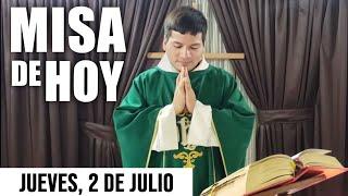 Misa de Hoy Jueves 2 de Julio 2020 con el Padre Marcos Galvis