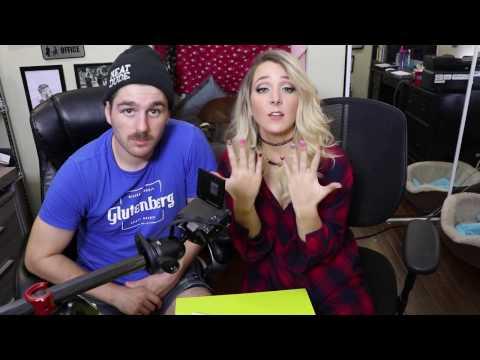 Mein Freund macht meine Nägel | My Boyfriend Does My Nails |Jenna Mourey