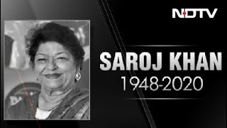 Veteran Choreographer Saroj Khan Dies At 71 - NDTV