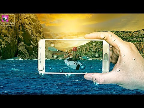 Mobile Manipulation In Photoshop - Photoshop Photo Manipulation Tutorial
