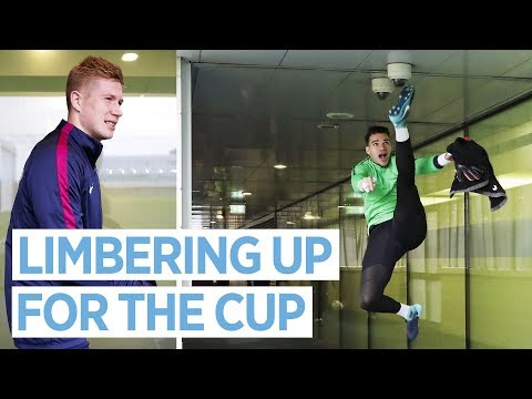 SHOOTING PRACTICE | Backheel goal and KDB Celebration | training