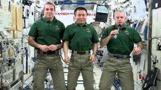 Earth Day Greetings from the ISS