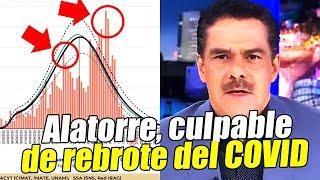 ¡ALERTA MÁXIMA! Reportan rebrotes del COVID en México. Redes culpan a Javier Alatorre