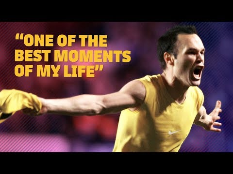 Andrés Iniesta analyzes Chelsea v Barça and remembers his goal at Stamford Bridge in '09