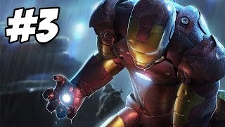 Iron Man Walkthrough | Weapons Transport | Part 3 (Xbox360/PS3/PC/Wii)