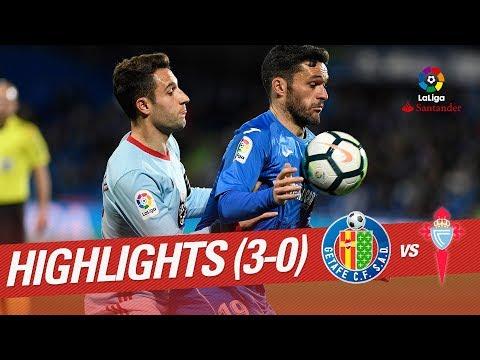 Resumen de Getafe CF vs RC Celta (3-0)