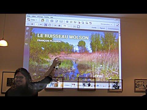 Historique du Ruisseau Molson, mini-conférence - Mobilisation 6600 MHM