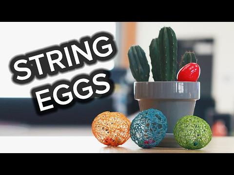 String Egg Treats