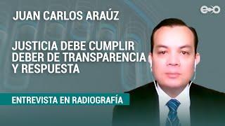 Ministerio Público requiere auxilio para investigar, destacó abogado | RadioGrafía