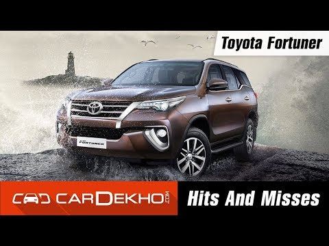Toyota Fortuner Hits & Misses | CarDekho.com