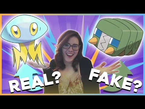 connectYoutube - Real or Fake Pokemon Challenge With My Sister!