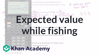 Expected value while fishing