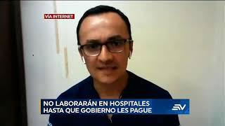 Médicos posgradistas dejarán de asistir a los hospitales