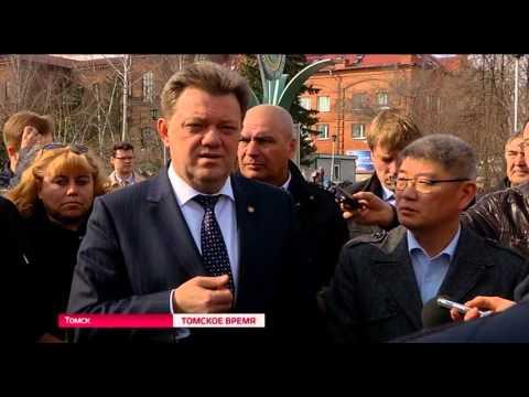 Сегодня мэр Томска Иван Кляйн провел выездное совещание по ремонту дорогу