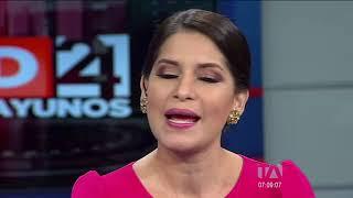 Los Desayunos 24 Horas, Carlos Rabascall, candidato vicepresidencial por UNES