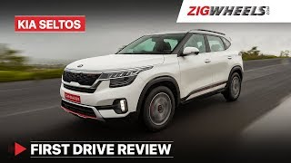 Kia Seltos India | First Drive Review | ZigWheels.com