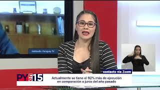 PYEN15: ARNOLDO WIENS, MINISTRO DE OBRAS PÚBLICAS