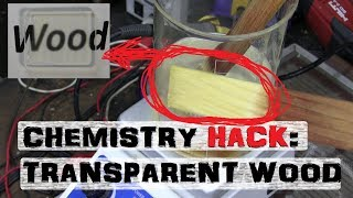 Making WOOD GLASS | Home Chemistry Experiment