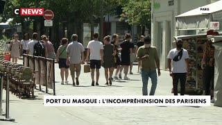 Coronavirus : Paris se masque en pleine vague de chaleur caniculaire