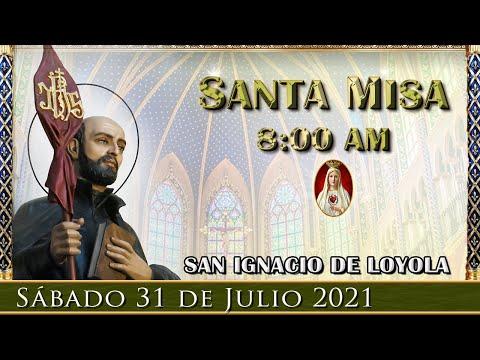Santa MisaSábado 31 de Julio 8:00 am. POR TUS INTENCIONES   Caballeros de la Virgen