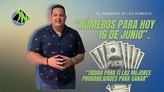 NUMEROS PARA HOY 16 DE JUNIO DEL 2021 | EL INGENIERO (BINGO 40 & 84 )