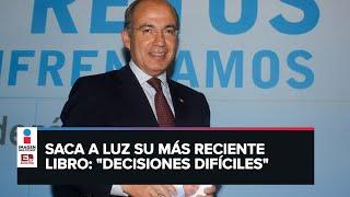 Consideré legalizar las drogas en mi administración: Felipe Calderón