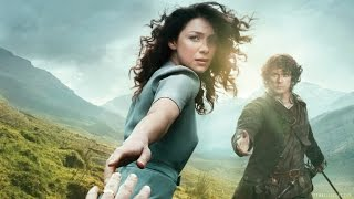 Talking Time Travel with the Cast of Outlander - Comic Con 2014